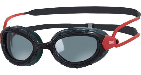 Zoggs Predator Polarized - Lunettes de natation - rouge/noir